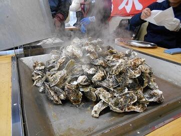 松島のかき小屋! おすすめは?食べ放題で大満足!!