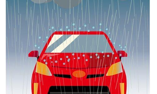 自然災害による車の保険!水没や雹害は対象になるの?
